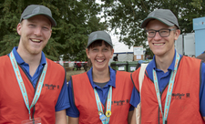 Volunteers at Birdfair