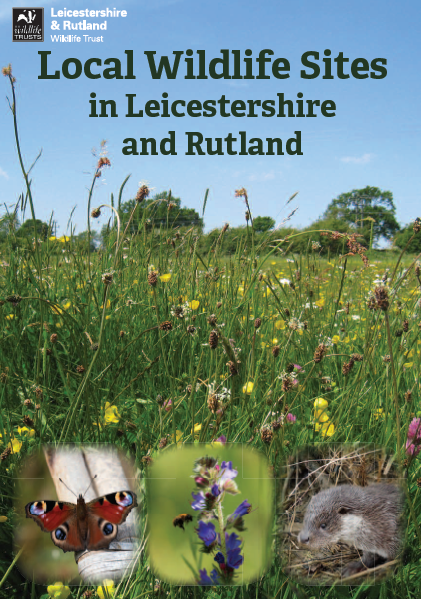 Local Wildlife Sites in LR cover of leaflet